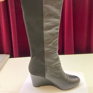 Diana Ferrari Knee High Leather Boots
